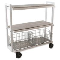 Urb SPACE Transformable 3-Tier Cart System in White