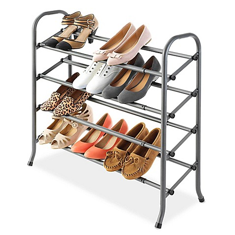 Bed Bath And Beyond Expandable Shoe Rack