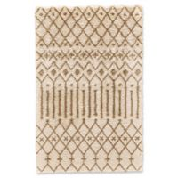 Feizy Noemie 5-Foot x 8-Foot Area Rug in Ivory/Tan