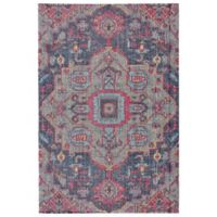 Feizy Rugs Tosca 1-Foot 8-Inch x 2-Foot x 10-Inch Accent Rug in Teal/Multi