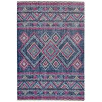 Feizy Rugs Tosca 1-Foot 8-Inch x 2-Foot 10-Inch Accent Rug in Teal/Multi