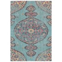Feizy Rugs Tosca 1-Foot 8-Inch x 2-Foot 10-Inch Accent Rug in Aqua/Multi
