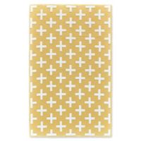 Feizy Aubrey 5-Foot x 8-Foot Area Rug in Yellow/White