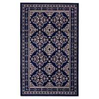 Feizy Aileen 5-Foot 2-Inch x 8-Foot Area Rug in Grey/Navy