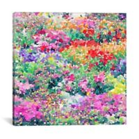 iCanvas Secret Garden 18-Inch Square Canvas Wall Art