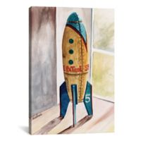iCanvas Space Patrol 18-Inch x 12-Inch Canvas Wall Art