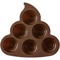 Rosanna Pansino by Wilton Silicone Poop Swirl Mold
