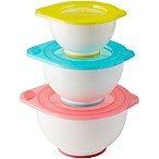 Rosanna Pansino by Wilton 6-Piece Covered Mixing Bowl Set