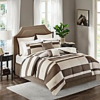 Madison Park Cody 8-Piece Queen Comforter Set in Natural