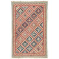 Jaipur Anatolia Ottoman 8-Foot x 10-Foot Rug in Burnt Brick
