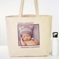Picture Perfect 1-Photo Tote Bag