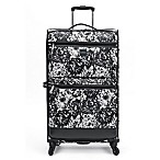 Isaac Mizrahi Boldon 29-Inch Spinner Suitcase in Black/White