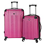 Traveler's Club® Chicago 2-Piece Hardside Spinner Luggage Set in Fuchsia