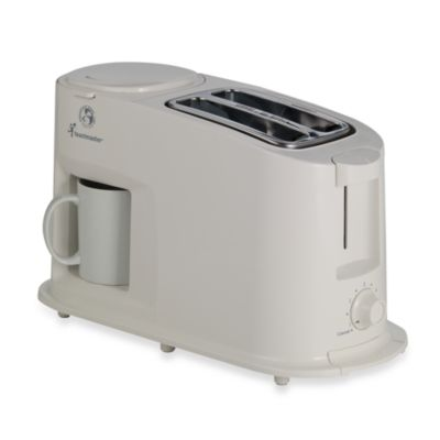 Toastmaster K Cup Coffee Maker Reviews : Toastmaster Cool Touch Toaster Coffee Maker Combo - Bed ...