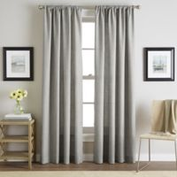 Sutherland 84-Inch Rod Pocket Window Curtain Panel in Grey
