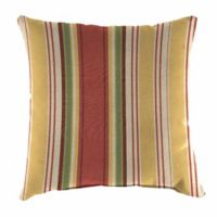 Aynovak Sunset Square Multicolor Outdoor Throw Pillow