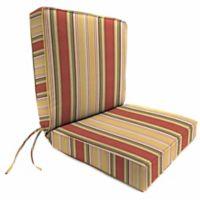 Aynovak Sunset Outdoor Multicolor Box Edge Chair Cushion