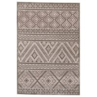 Feizy Rugs Soho Zam 5-Foot 3-Inch x 7-Foot 6-Inch Area Rug in Grey/Silver