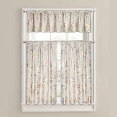 Colordrift Wildflower Window Curtain and Valance Collection