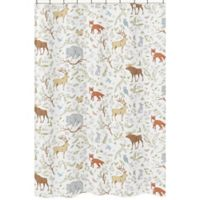 Sweet Jojo Designs Woodland Toile Shower Curtain