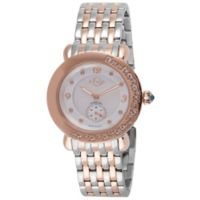 GV2 Catanzaro Ladies' 37mm Diamond Watch in Two-Tone SS/IPRG