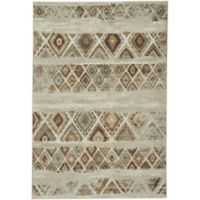 Capel Rugs Jacob Mosaic 5-Foot 3-Inch x 7-Foto 8-Inch Area Rug in Beach