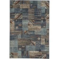 Capel Rugs Jacob Panel 4-Foot 4-Inch x 6-Foot 2-Inch Multicolor Area Rug