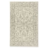 Capel Rugs Enchant Border 5-Foot x 8-Foot Area Rug in Natural