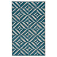 Feizy Vassar Stripe 2-Foot 2-Inch x 4-Foot Accent Rug in Mint