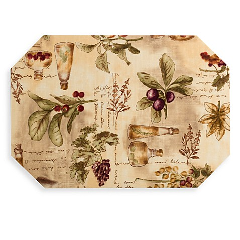 Sorrento Laminated Placemat Bed Bath Amp Beyond