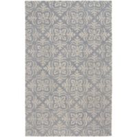 Capel Rugs Edna 5-Foot x 8-Foot Area Rug in Blue