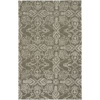 Capel Rugs Edna 9-Foot x 12-Foot Area Rug in Mushroom