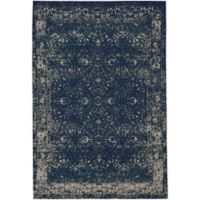 Capel Rugs Celestial-Star Flat Woven 9-Foot x 12-Foot Area Rug in Blue