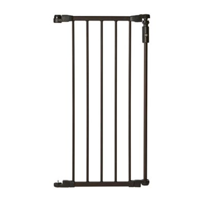 north states 15inch deluxe dcor extension gate in bronze