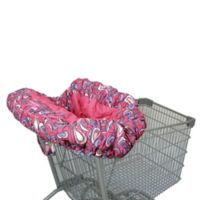 Floppy Seat® Shopping Cart Cover in Pink