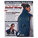 Relief Wrap in Blue