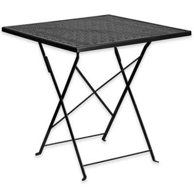 Buy Folding Patio Table Sets From Bed Bath Beyond - Metal folding patio table and chairs