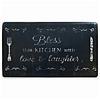 "Home Dynamix Cook N Comfort 19.6-Inch x 35.4-Inch ""Bless This Kitchen"" Anti-Fatigue Kitchen Mat"