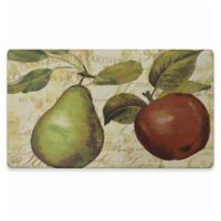 Home Dynamix Cook N Comfort 19.6-Inch x 35.4-Inch Green Pear Anti-Fatigue Kitchen Mat