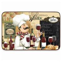 Home Dynamix Designer Chef 18-Inch x 30-Inch Vino Kitchen Mat