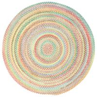 Capel Rugs Baby's Breath Braided 7-Foot 6-Inch Round Area Rug in Natural