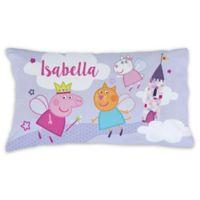 Peppa Pig Castle Pillowcase in Purple
