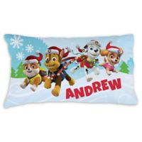 PAW Patrol™ Winter Wonderland Pillowcase in Blue