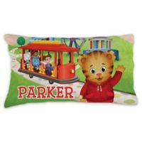 Daniel Tiger Trolley Pillowcase in Green