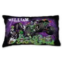 Monster Jam Grave Pillowcase in Black