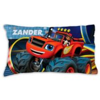 Blaze and the Monster Machines Racing Pillowcase in Blue