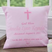 Baptism 18-Inch Throw Pillow