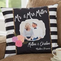 Modern Chic 18-Inch Square Throw Pillow