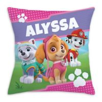 PAW Patrol Pawfect Pups Square Throw Pillow in Pink