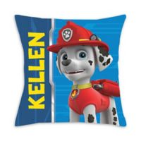 Paw Patrol Marshall Square Throw Pillow in Blue